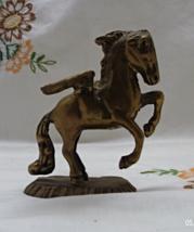 Vintage Brass Pegasus / Flying Horse / Fantasy ... - $10.50