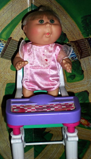 Cabbage Patch Kids - Snacktime Kid - Mattel 1991