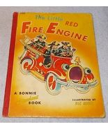 The Little Red Fire Engine 1953 Vintage Bonnie Book Vic Havel - $7.95