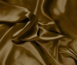 Silk~Y Satin Lingerie Bed Sheet Set King Copper - $24.99