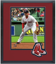 Travis Shaw 2015 Boston Red Sox -11 x 14 Team Logo Matted/Framed Photo - $43.55
