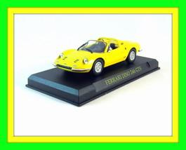 FERRARI DINO 246 GTS 1970, YELLOW IXO ALTAYA 1/43 DIECAST CAR COLLECTOR'... - $26.90