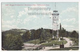 CHATTANOOGA TN ~ BRAGGS HEADQUARTERS MISSIONARY RIDGE TOWER ~ 1900s old ... - $3.63