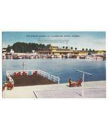 $300,000 MARINA  CLEARWATER BEACH FL ~1950s vintage postcard~BOATING~ YA... - $3.63