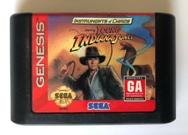 ☆ Instruments of Chaos Young Indiana Jones (Sega Genesis 1994) AUTHENTIC Game ☆ - $7.25