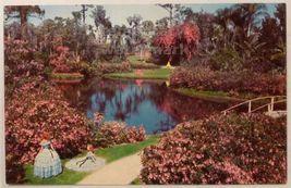 CYPRESS GARDENS FL  LAKE ELOISE FAIRYLAND~c1960s vintage postcard~FANTAS... - $2.76