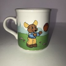 The Get Along Gang Coffee Mug Clubhouse Caboose 1985 Montgomery Moose Do... - $7.30