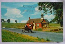 PENNSYLVANIA Amish Dutch Country- HORSE DRAWN CART- PA 1960s postcard - $2.71