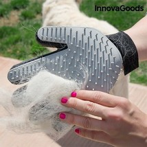 Pet Brush & Massage Glove Silicone Bristles Breathable Fabric Adjustable... - $7.28