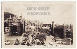 Montreal Quebec Canada-Royal Victoria Hospital-1952 real photo postcard ... - $4.55
