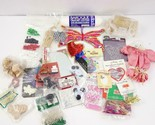 Assorted Mixed Lot of Craft Supplies