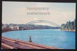 TYNGSBORO BRIDGE on Merrimack River - NASHUA New Hampshire-NH c1960s pos... - $3.63