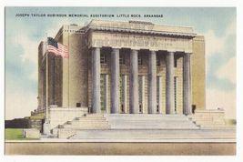 Joseph Taylor Robinson Auditorium   Little Rock Ar C1940s Arkansas Postcard - $2.71