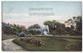 QUINCY IL Illinois Grounds & Home of Charles H. Bull Sr-c1910s postcard-... - $13.75