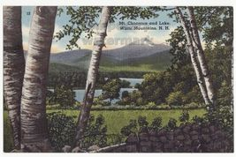 Mt Chocorua And Lake, White Mountains ~ New Hampshire Scenic Landscape Postcard - $3.63