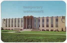 Berrien Springs Mi ~ Andrews University Seminary Hall C1960s Michigan Postcard - $2.71