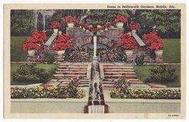 Mobile Alabama  Bellingrath Gardens Scene ~ Azalea Flowers ~ C1948 Postcard - $3.68