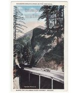 COLUMBIA RIVER HIGHWAY Oregon~Rounding Eagle's Crest of Cascades c1910s ... - $4.55