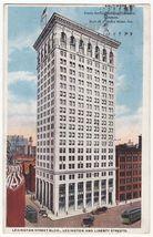 BALTIMORE MD Lexington Street Public Service Building Co c1927 Maryland ... - $3.22