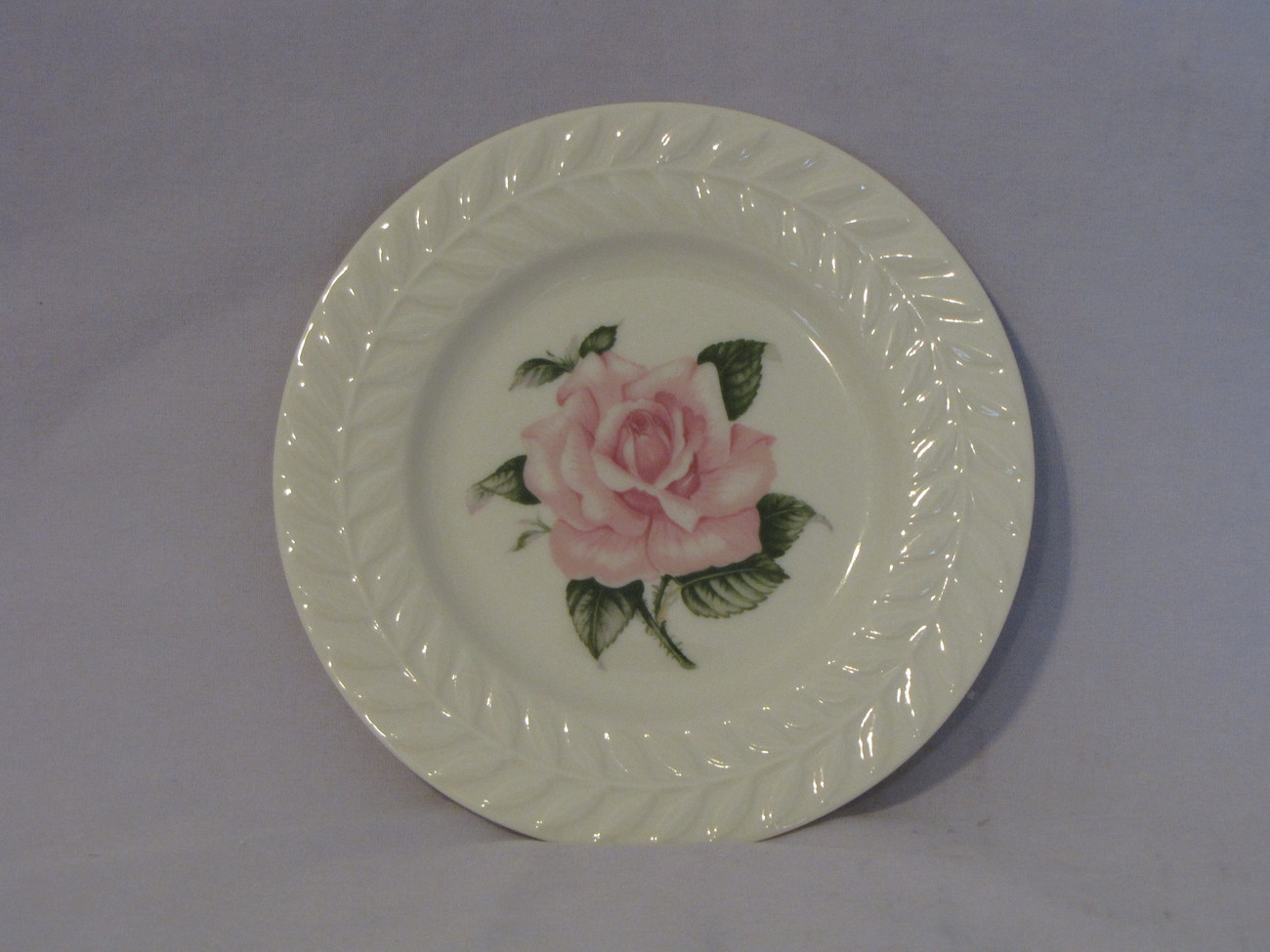 Theodore haviland rose bread plate