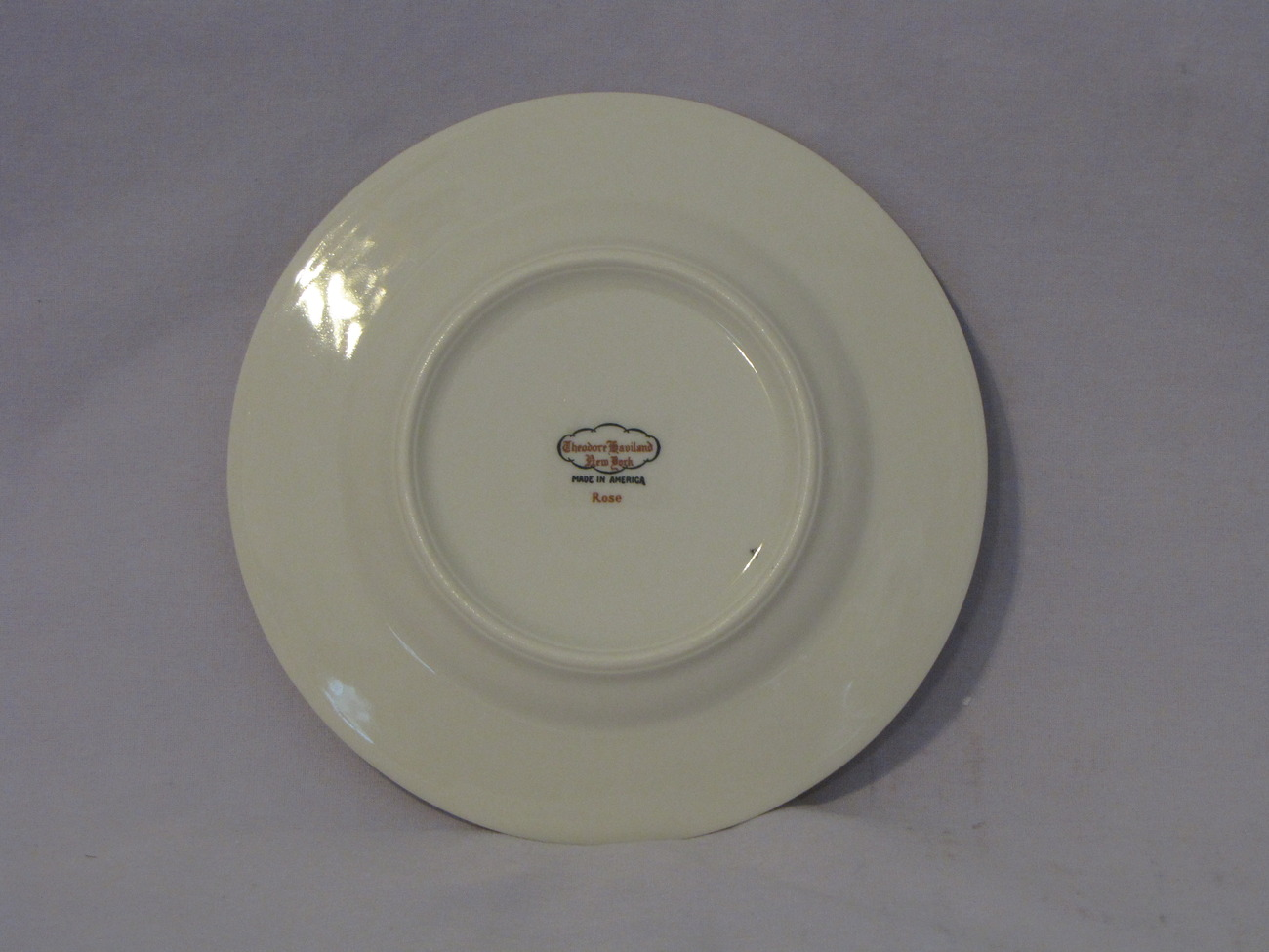 Theodore Haviland New York Rose Bread Plate