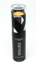 L'OREAL INFALLIBLE Shaping Stick Highlighter No.42 Gold is Cold 0.3oz./8.7g - $8.42