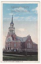 GRANBY PQ QUEBEC EGLISE CATHOLIQUE CATHOLIC CHURCH c1910-20s Canada post... - $13.75
