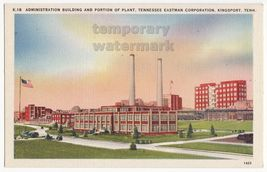 KINGSPORT TN Eastman Corporation Administration Building & Plant c1940s ... - $3.22