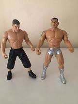 "2005 Jakks WWE John Cena & Batista  Wrestling Pose-able Action Figure 7""... - $12.16"
