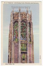 LAKE WALES FL SINGING TOWER CLOSE UP~MOUNTAIN LAKE SANCTUARY~c1940s post... - $3.22