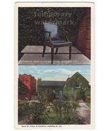 NORFOLK VA Virginia Old St Paul's Church -Historical John Hancock Chair ... - $4.55