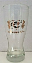 Vintage rare 1970's miller high life champagne of beer barware glass 10 ... - $24.99