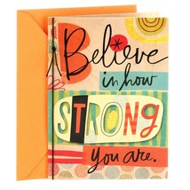 Hallmark Encouragement or Thinking of You Card (Believe in How Strong Yo... - $14.22