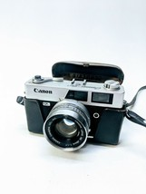Canon Canonet QL-17 45mm F-1.7 Lens Rangefinder Film Camera With Case UN... - $70.73