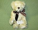 "14"" MOHAIR TEDDY BEAR HILDEGARD GUNZEL COLLECTION BLOND POSY 17/150 TAG JOINTED  - $318.78"