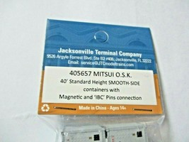 Jacksonville Terminal Company # 405657 Mitsui O.S. K. 40' Standard Container (N) image 2