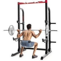 Weider Pro 7500 Half Rack Home Gym, Durable Frame for Squat/Bench Weight... - $399.00