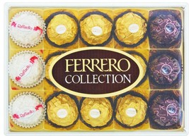 Ferrero Rocher Chocolate Collection 15 Pieces Birthday Gifts Weddings Pa... - $9.89