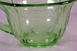 Indiana Glass 1932 Lorain Green Cup - $6.74