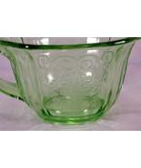Indiana Glass 1932 Lorain Green Cup - $6.29