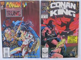 Set of 2 Marvel Comics Conan - $3.99