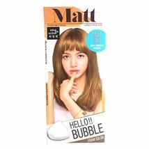 Easy Hair Coloring, mise en scene Hello Bubble Foam Color Light Gold [8MG Matt G