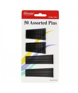 Annie 3102 50 Assorted Color Hair Pins 2'' and 2 3/4'' - $3.71