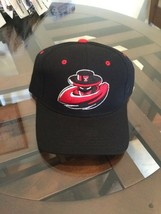NEW NWT Texas Tech Red Raiders NCAA Football Hat 7 Zephyr Black Retro Rare Cap - $19.79