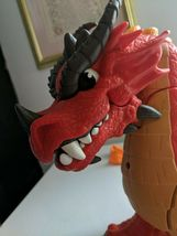 Fisher Price Imaginext Red Winged Eagle Talon Castle Dragon W Sounds! Works!! image 4