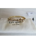 Kate Spade New York Bracelet Tied Up Pave Bow Bangle NEW - $67.32