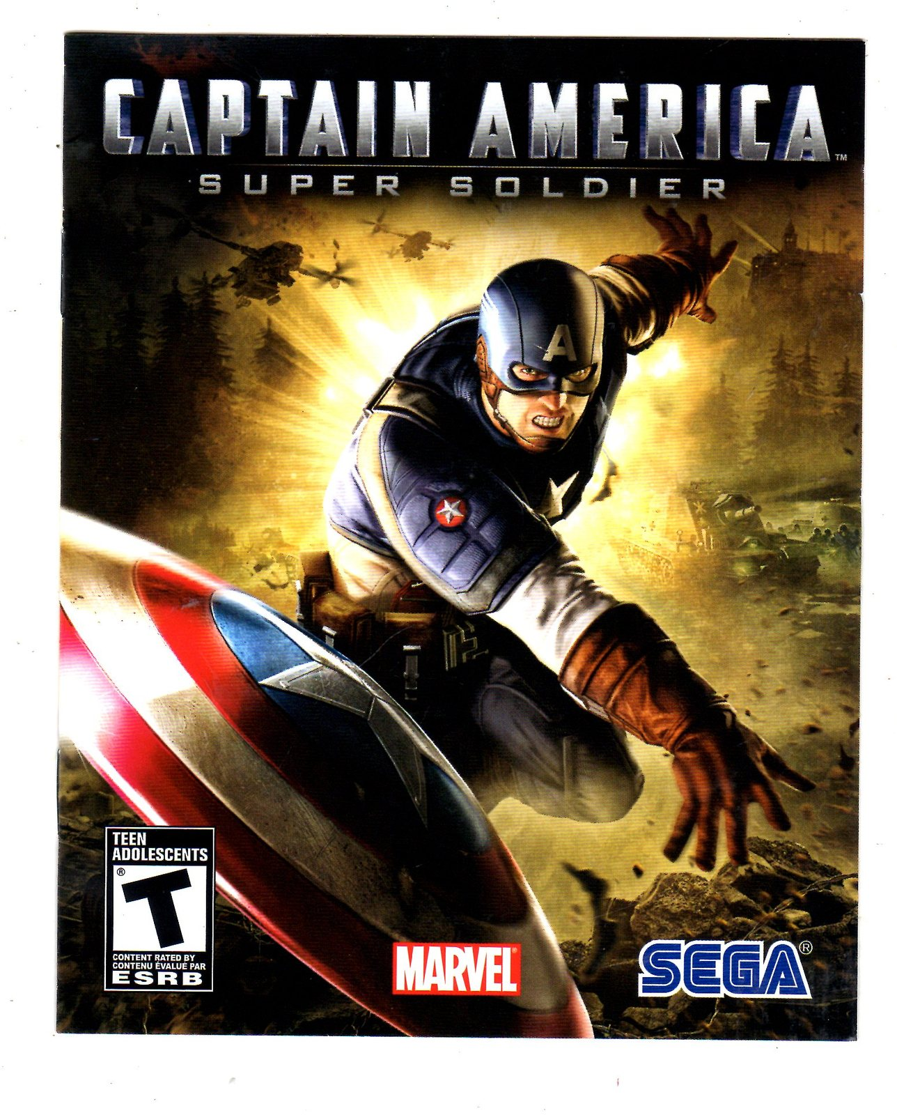 PlayStation 3 - Captain America - Super Soldier