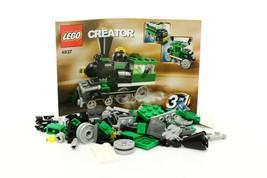 Lego Creator Basic Model Train Set 4837 Mini Trains 100% complete + inst... - $14.84