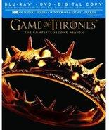 Game of Thrones: Season 2 (Blu-ray/DVD Combo + Digital Copy) [Blu-ray] - $24.14