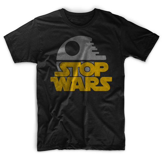 Stop wars anti war parody 01